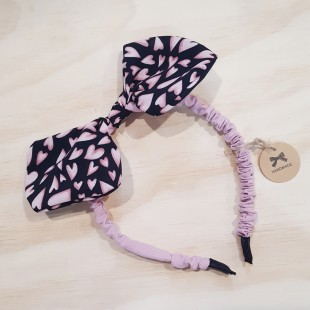 Little Ellie Hand Made Kids Headband - Black